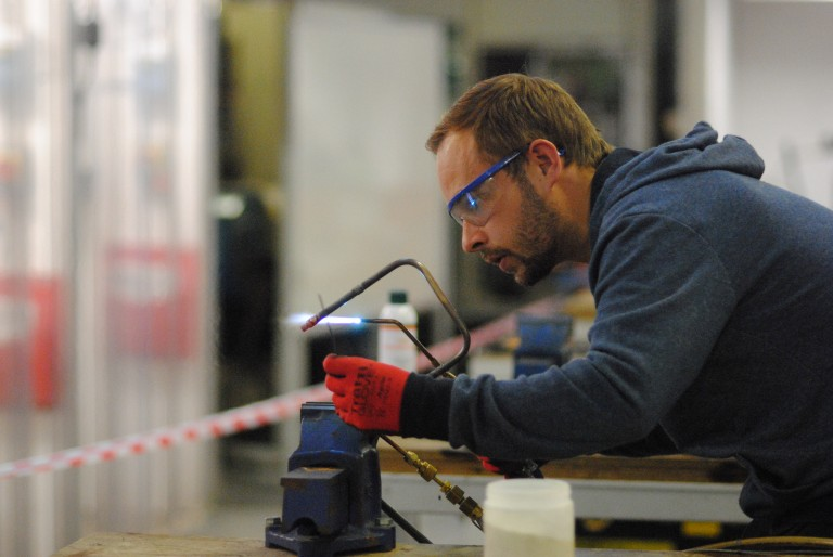 Aspiring Service Engineer reaches national skills competition