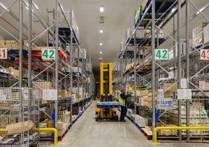 Large Scale Cooling for New Distribution Centre