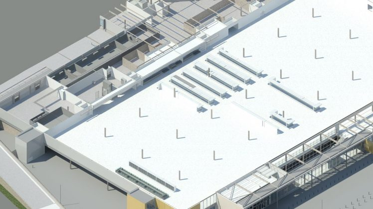 Building Information Modelling facilitates coordinated supermarket installation