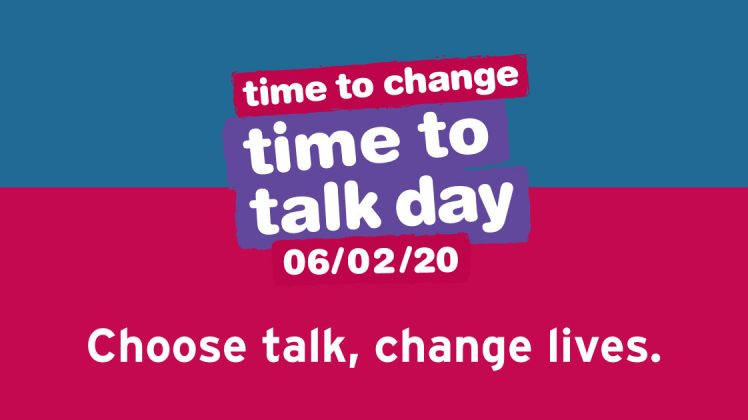 It's time to talk……. About Mental Health