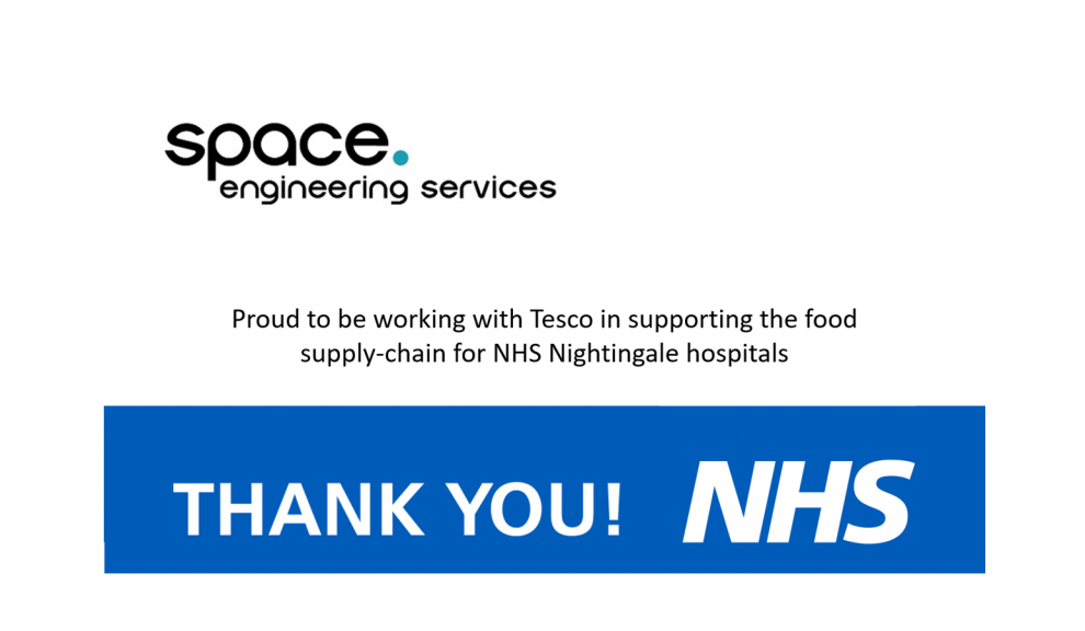 NHS Nightingale – Playing our part
