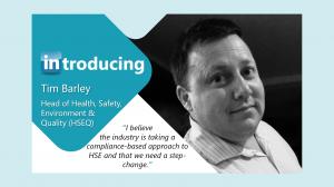 Introducing Tim Barley