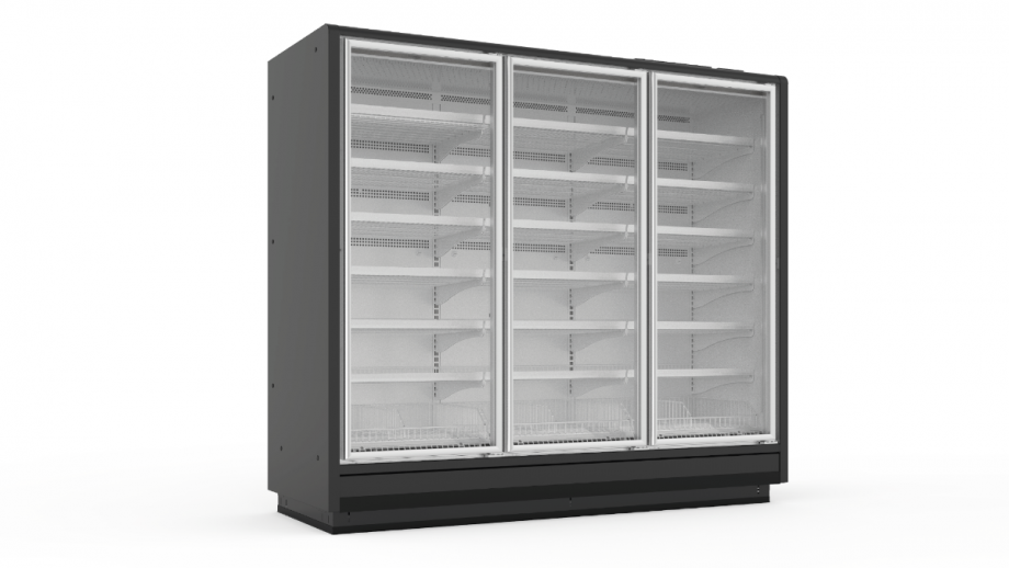 Full Height Glass Door Remote Freezers
