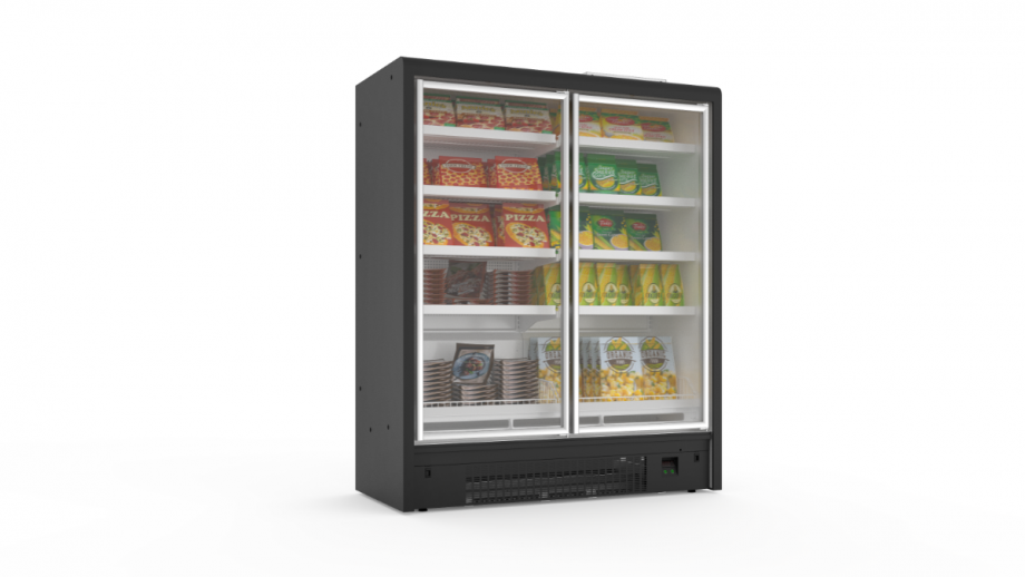 Integral freezer cabinets