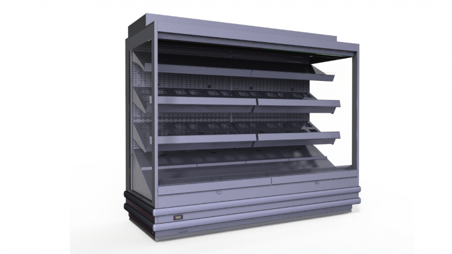 produce roll in cabinets