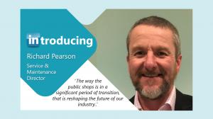 Introducing Richard Pearson
